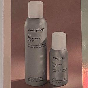 NIB Living Proof Full Dry Volume Blast Set